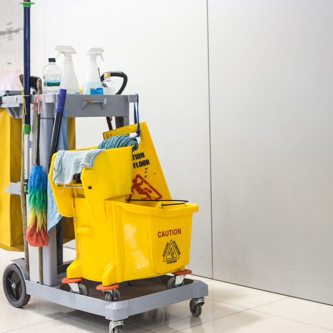 commercial cleaning in San Antonio, TX